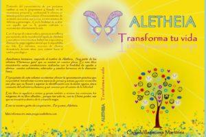 Presentación libro Aletheia Transforma tu vida